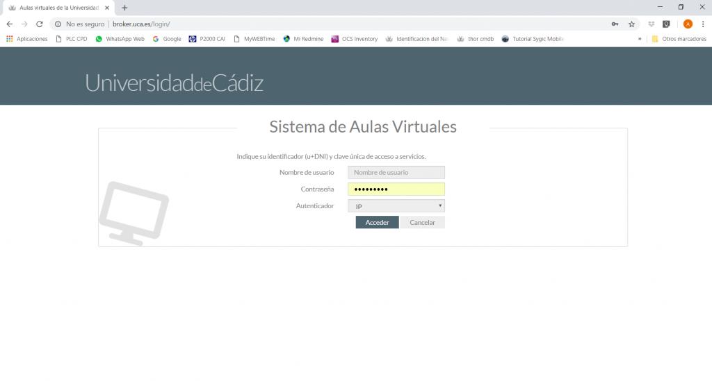 Nueva versión del sistema VDI de aulas virtuales
