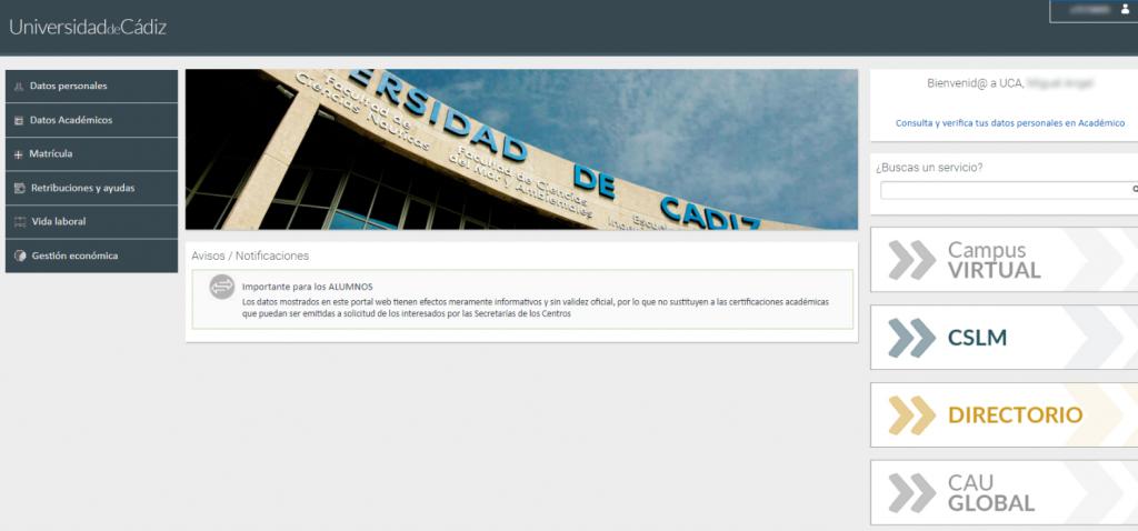 Nuevo Portal de servicios de UXXI