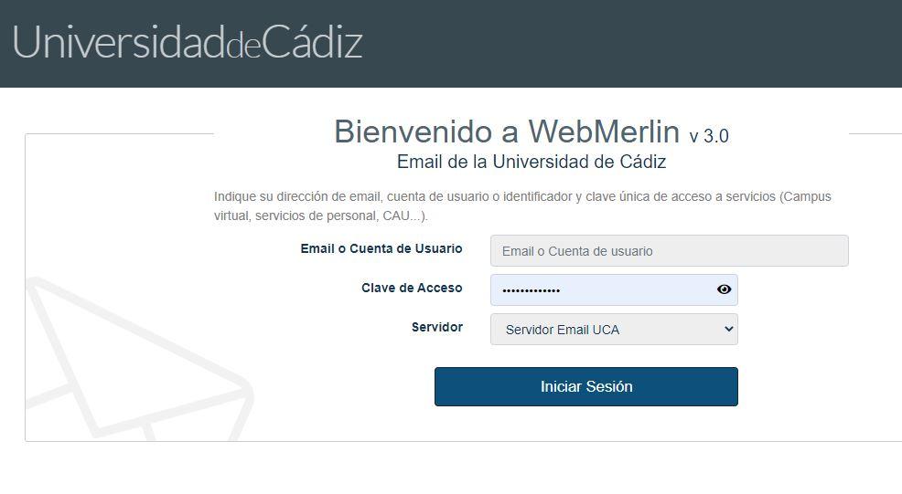 Nueva versión de Webmerlin